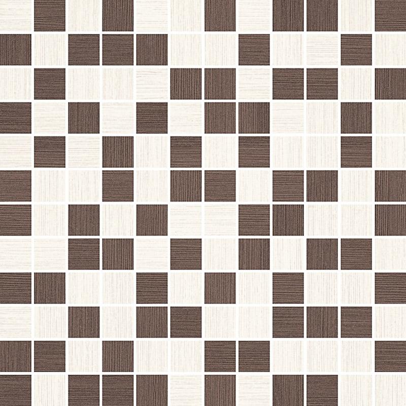 Paradyz Sottile Bianco/Brown mix mozaika rezana 29,8x29,8 mozaik